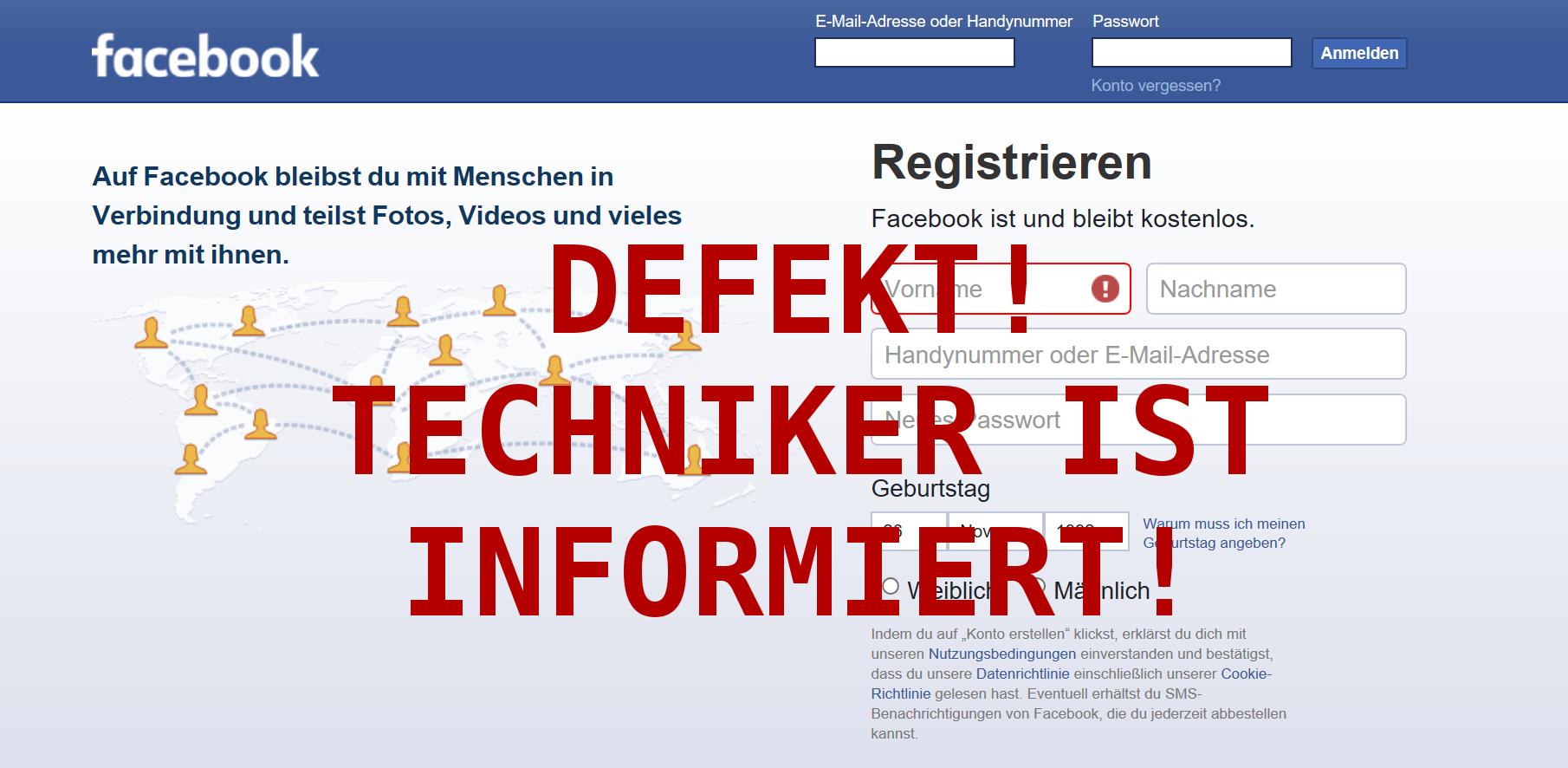 facebook wieder anmelden